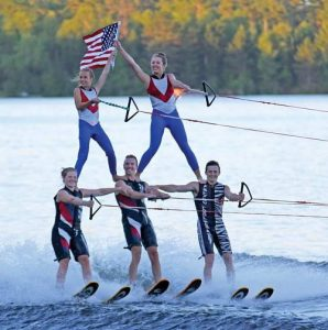 FREE Water Ski Show @ Rest Lake Park | Manitowish Waters | Wisconsin | United States