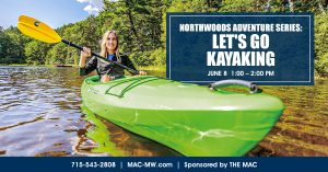 Northwoods Adventure Series: Let's Go Kayaking @ Rest Lake Condos Dock | Manitowish Waters | Wisconsin | United States