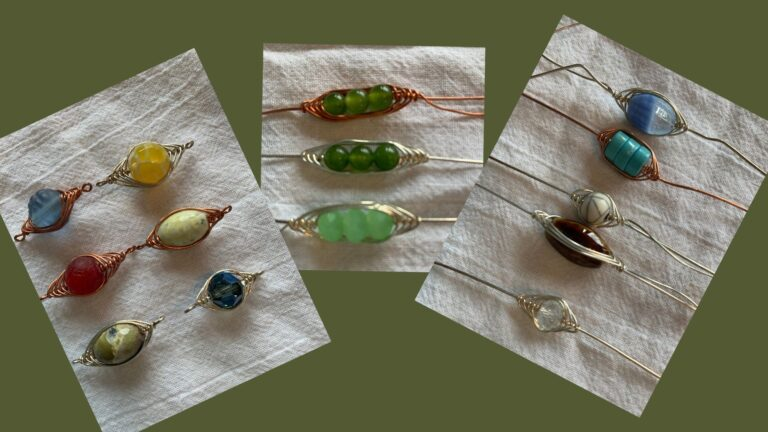 Herringbone Wire Design Jewelry with Elizabeth Eaton @ LAND O' LAKES AREA ARTISANS, INC. | Land O' Lakes | Wisconsin | United States