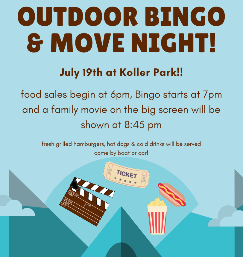 Bingo in the Park + Movie Night @ Koller Park | Manitowish Waters | Wisconsin | United States